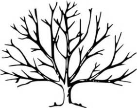 Tree with no leaves clip art at clker com vector clip art online