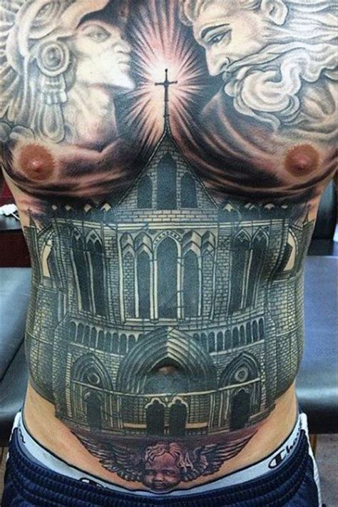 belly tattoo for men 51 best stomach tattoos for images on