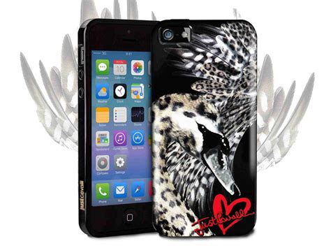 Swan Iphone 5 5s just cavalli swan cover limited edition hoesje voor