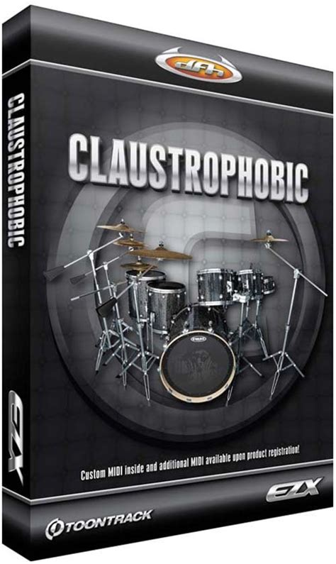 Has Add And Is Claustrophobic by Toontrack Ezdrummer Ezx Claustrophobic Hybrid Dvdr Airiso