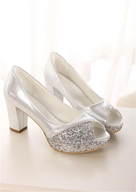 comfortable gold shoes glitter sequins gold heels silver wedding shoes bride