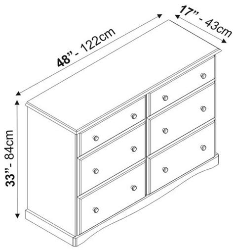 Dimensions Of A Dresser by Dimensions