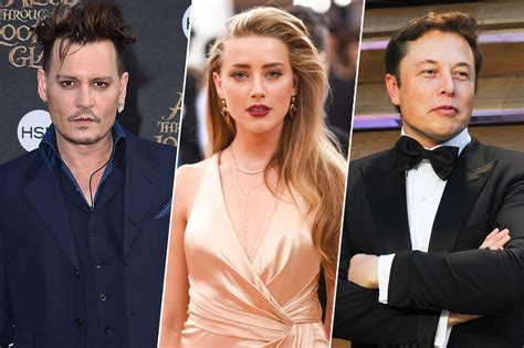 is amber heard dating elon musk after johnny depp divorce is amber heard really dating elon musk or is tmz doing