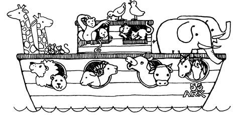 coloring pages for noah s ark noah and the ark coloring pages