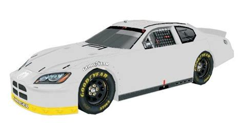 Nascar Papercraft - new paper craft 2005 dodge charger nascar paper car free