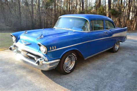 1957 57 chevrolet two ten 210 post sedan 2 door not belair