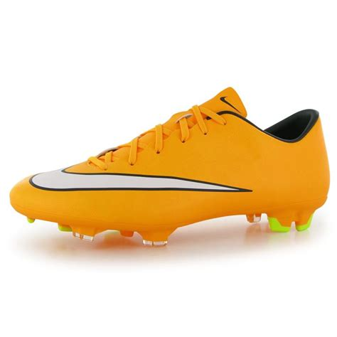 nike orange football shoes nike mercurial victory fg mens football boots orange
