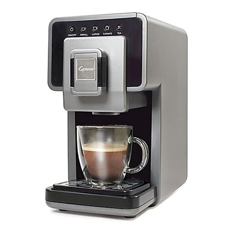 bed bath and beyond coffee makers buy capresso 174 coffee a la carte coffee and tea maker from