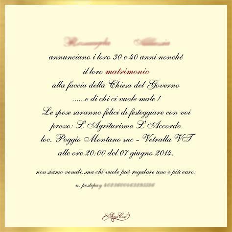 testo un inviti 50 anni matrimonio js05 187 regardsdefemmes