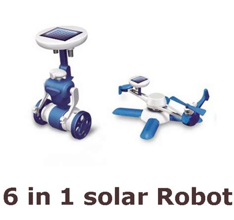 6 In 1 New Solar Educational Diy sale new children s diy solar toys 6 in1 educational solar power kits novelty solar robots