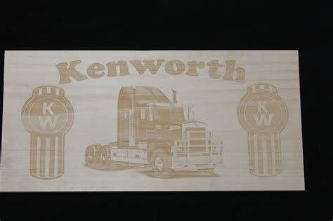 wooden kenworth wooden sign kenworth truck colac gifts and engraving