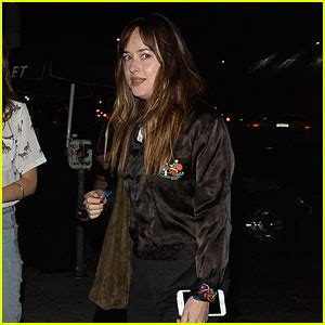 Dakota Background Check Dakota Johnson Spends The Afternoon Hanging Out With Friends Dakota Johnson Just Jared