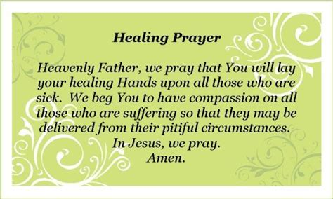 wellness prayers comfort healing poems for comforting the sick posted by pwlco l b