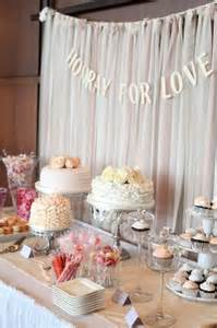 Cake Table Backdrop by Diy Muskoka Bay Club Wedding From A Simple Photograph