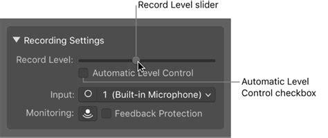 Garageband No Input Source Selected Garageband For Mac Before Recording Audio