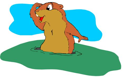 groundhog day clipart free groundhog clipart