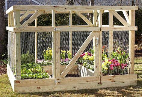 build  enclosure  protect  garden diy raised
