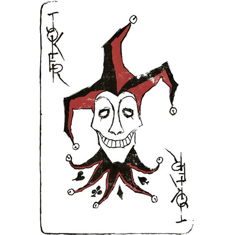 joker playing card tattoo designs joker card joker cards and