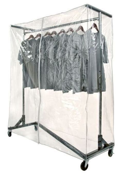 Rolling Rack Covers by Garment Rack Cover Protection Clothing Rack Cover