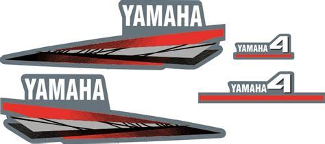 Yamaha 4hp Sticker by Yamaha 2stroke 4 Hp Sticker Marketplace
