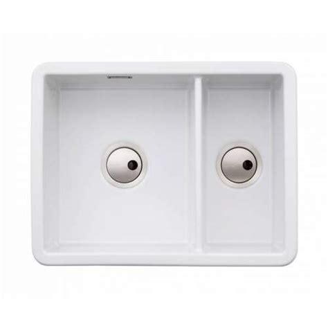 Large Ceramic Kitchen Sinks Abode Sandon Large 1 5 Bowl Ceramic Kitchen Sink Aw1033 Sinks Taps