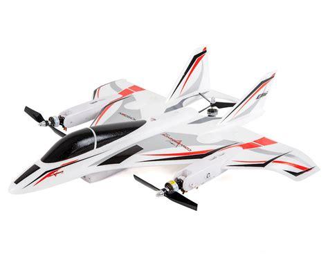 e flite convergence vtol pnp electric airplane multirotor drone
