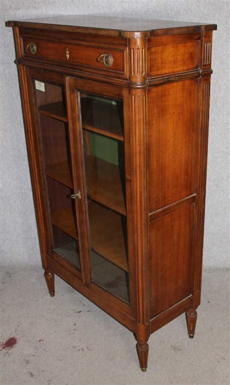 china cabinet with legs 1900 walnut louis style bookcase antiques atlas