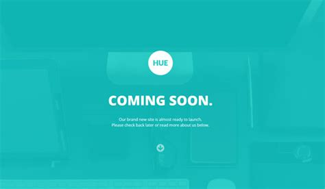 Responsive Coming Soon Page Templates Web Design Beat Coming Soon Template