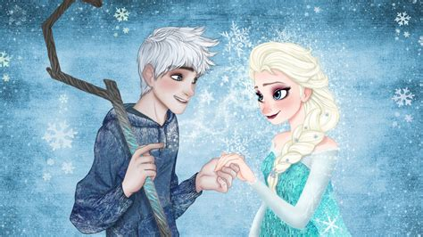 film elsa et jack frost jack frost and queen elsa by onceinawhile89 on deviantart