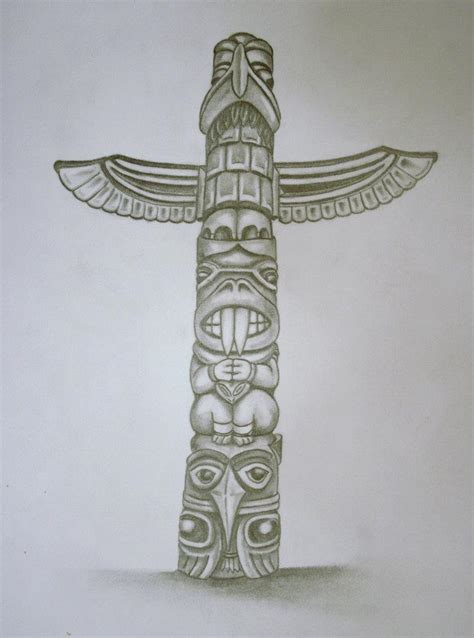 totem pole tattoo designs totem pole designs cake ideas and designs