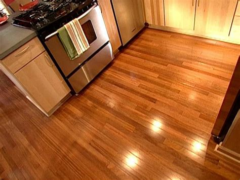 flooring options for kitchens hgtv