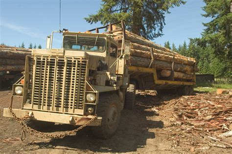 army surplus bc logging truck