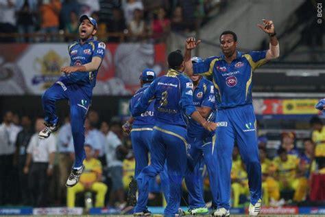 ipl mumbai team players ipl 2013 results mumbai indians trump csk to clinch first