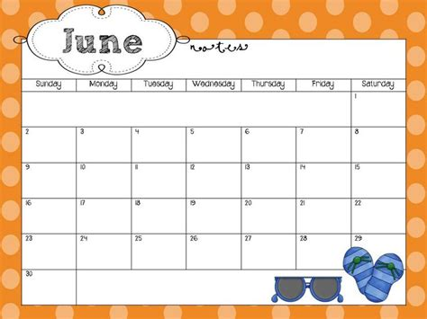 monthly calendar template microsoft word child fun