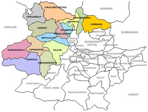 Peta Lipat Kota Cimahi humas polres cimahi peta wilayah hukum polres cimahi