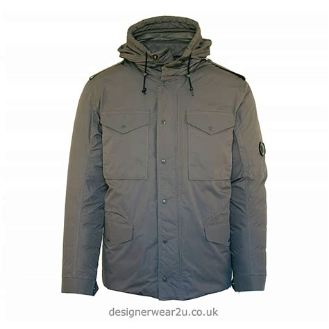 Cp Jaket Grey c p company cp company grey micro m jacket with arm lens jackets from designerwear2u uk