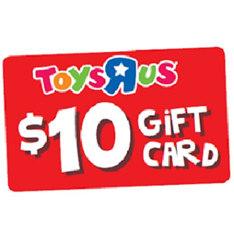 Toys R Us 10 Gift Card - free toys r us 10 gift card with any 50 purchase or more in store vonbeau com