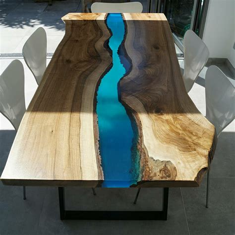epoxy river table designs  unusual interior