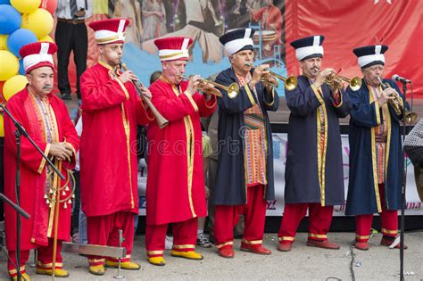 ottoman military band turkish festival editorial stock photo image 32390713
