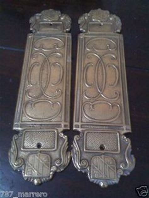 push plates for swinging doors swinging doors antique doors and solid brass on pinterest