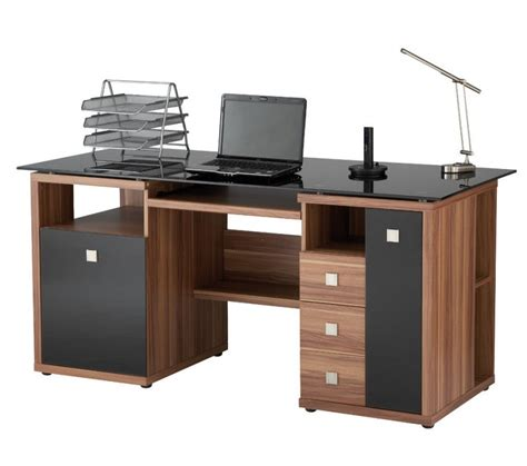 wood computer desk for home wood computer desk at the galleria