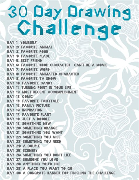 my positivity guide and journal challenge thirty day challenge books 30 day drawing challenge anyone to try with me