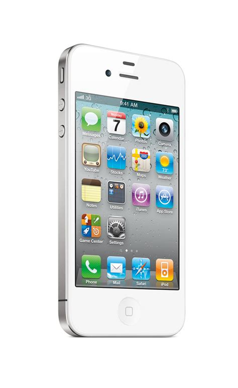 white iphone 4 finally all tech everything