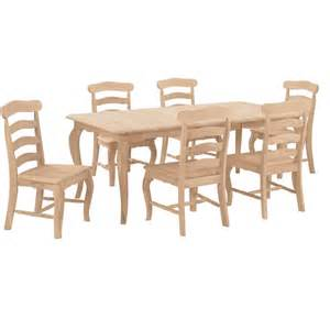 Country Dining Chair Country Wood Dining Set