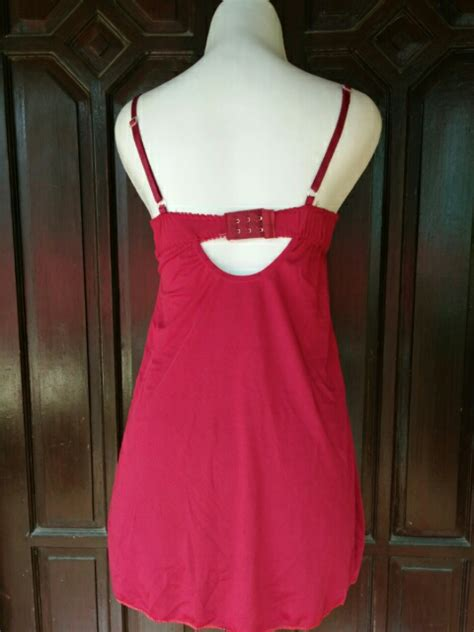 Harga Lingering Wanita jual busa tipis al599 merah merah