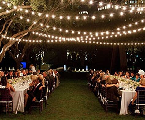 string outdoor patio lights traditional bridal wedding patio garden string lights