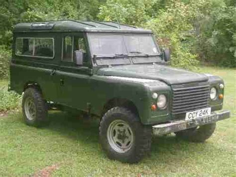 buy used 1980 land rover defender 100 inch hybrid