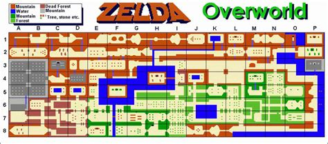 legend of zelda map dimensions map of the legend of zelda holidaymapq com