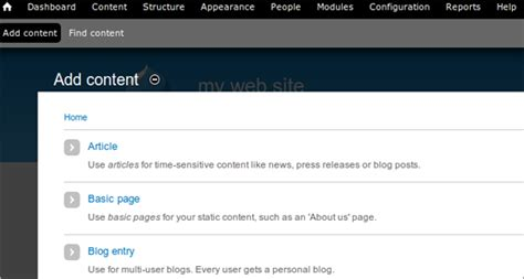 tutorial adding configuring and using the drupal blog blog tutorial how to create a blog website with drupal