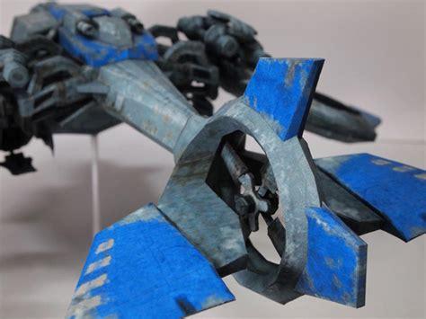 Starcraft 2 Papercraft - starcraft 2 banshee paper craft gadgetsin